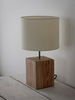Medium Megeve Table Lamp in Reclaimed Elm