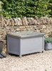 Northcote Outdoor Storage Box,  Large in Charcoal - Spruce