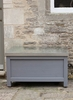 Northcote Outdoor Storage Box,  Small in Charcoal - Spruce
