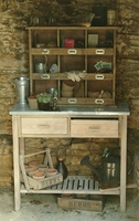 Zinc Potting Bench - Small