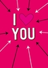 Gifts I Love You Arrows| Valentine's Day Card |DM2155