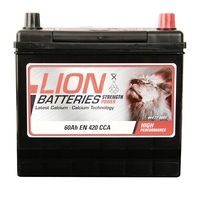 Batteries  - Lion Battery 005 60AH 420CCA