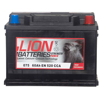 Batteries  - Lion Battery 075 60AH 520CCA