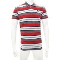 General Clothing   - Levi Red Stripe Polo T-Shirt XL