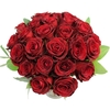 Flowers Two Dozen Valentine Red Roses