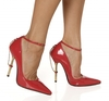 The Highest Heel Shoes Roxi Red Court Shoes