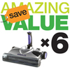 6 x SW02 Cordless Floor Sweepers