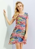 Women's Dresses & Skirts Yumi Meadow Multi Printed Dress