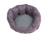 Pets Buster Cocoon Beds Black Plum/Steel