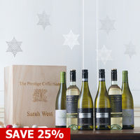 Birthday Gifts  - Personalised Prestige White Wine 6 Pack