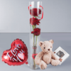 Trio Of Red Rose Gift Set