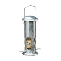 Garden & Leisure  - Harrisons Fat Ball and Suet Roll Steel Feeder Steel