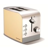 Toasters  - Accents Cream 2 Slice Toaster
