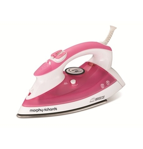 Irons  - Breeze Steam Iron with Stainless Steel Soleplate