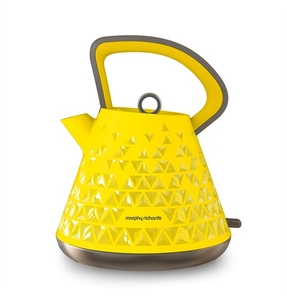 Electric Kettles  - Prism Yellow Traditional Kettle