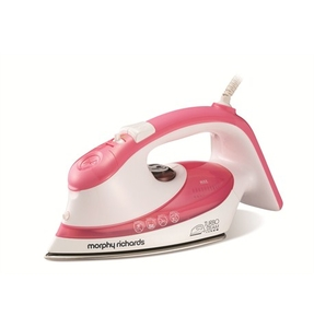 Irons  - Turbosteam Steam Iron Stainless Steel Dual Zone Soleplate
