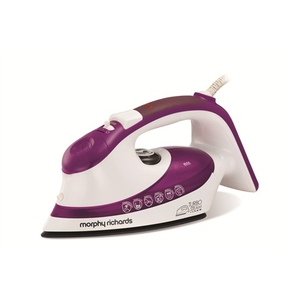 Irons  - Turbosteam Steam Iron with Ionic Soleplate