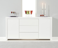 Furniture  - Hampstead White High Gloss Sideboard