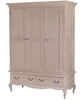 Limor Oak 3 Door Wardrobe