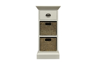 - Pippa 1 Drawer 2 Basket Unit