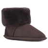 Women's Footwear Ladies Albery Sheepskin Slippers Chocolate UK Size 3/4