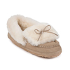 Shoes Ladies Avondale Sheepskin Slippers Beige UK Size 7
