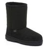Shoes Ladies Short Cheriton Sheepskin Boots Black UK Size 4