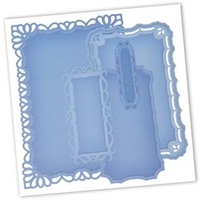General Household  - Spellbinders Nestabilities Die Templates - Resplendent Rectangles
