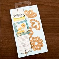 Arts & Crafts  - Spellbinders Shapeabilities Die Templates - Pretty Petals B