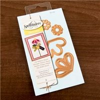 Arts & Crafts  - Spellbinders Shapeabilities Die Templates - Pretty Petals C