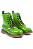 Martina Classic Boots in Lime Patent