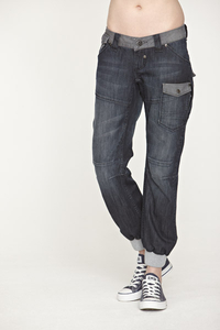 Voi Industry Cuffed Denim Jeans