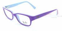 Glasses  - Ray-Ban Junior RB1527 3576 Top Violet on Azure