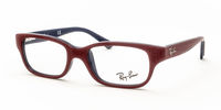 Glasses  - Ray-Ban Junior RB1527 3577 Top Red on Blue