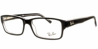 Glasses  - Ray-Ban RB5169 2034 Top Black On Transparent