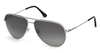 Tom Ford Erin TF466 17D Matte Palladium/Grey Polarised
