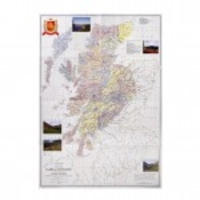 Novelty Gifts  - Clan Map Wall Poster
