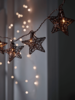 Decorations Wired Copper Light Garland