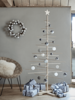 Decorations Wooden Scandi Tree