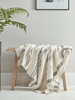 Home Accessories Woven Fringed Throw