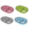 Pets SureFeed Split Feeder Bowl Green