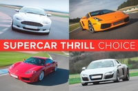 Gifts  - Supercar Thrill Choice