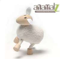 Other Toys  - Anamalz - Enviro-Friendly Wooden Sheep Toy