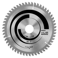 Power Tools  - Bosch Multi Material Cutting Saw Blade 180mm 48T 30mm