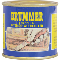 Hand Tools  - Brummer Yellow Label Interior Stopping Wood Filler Pine 250g