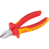Hand Tools  - Knipex VDE Insulated Diagonal Side Cutters 140mm