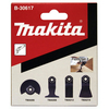 Makita 4 Piece Multi Tool Flooring Blade Set