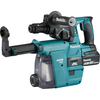 Makita DHR243 18v LXT Cordless SDS Hammer Drill and Dust Unit 2 x 4.2ah Li-ion Charger Case & Accessories