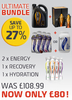 Men's Sportswear The Ultimate Energy, Hydration and Recovery Bundle