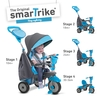 Outdoor Toys SmarTrike Swing Blue 4 in 1